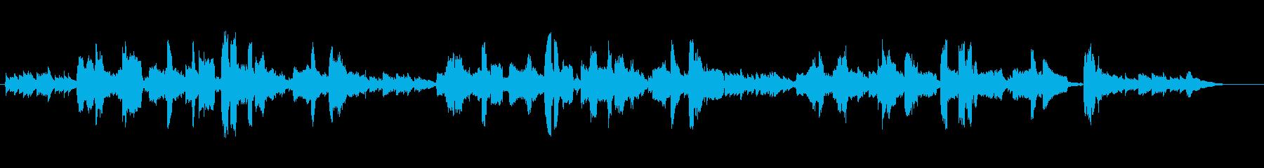 唱歌「花」の男声ギター弾き語りの再生済みの波形