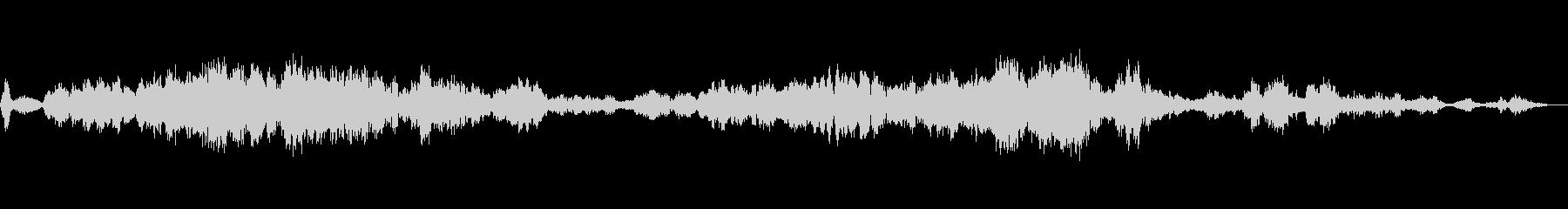 進化するメタリックモーフィングトーンの未再生の波形