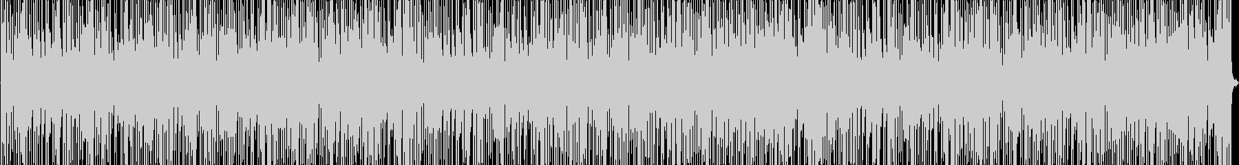 ほのぼの系リズミカルBGMの未再生の波形