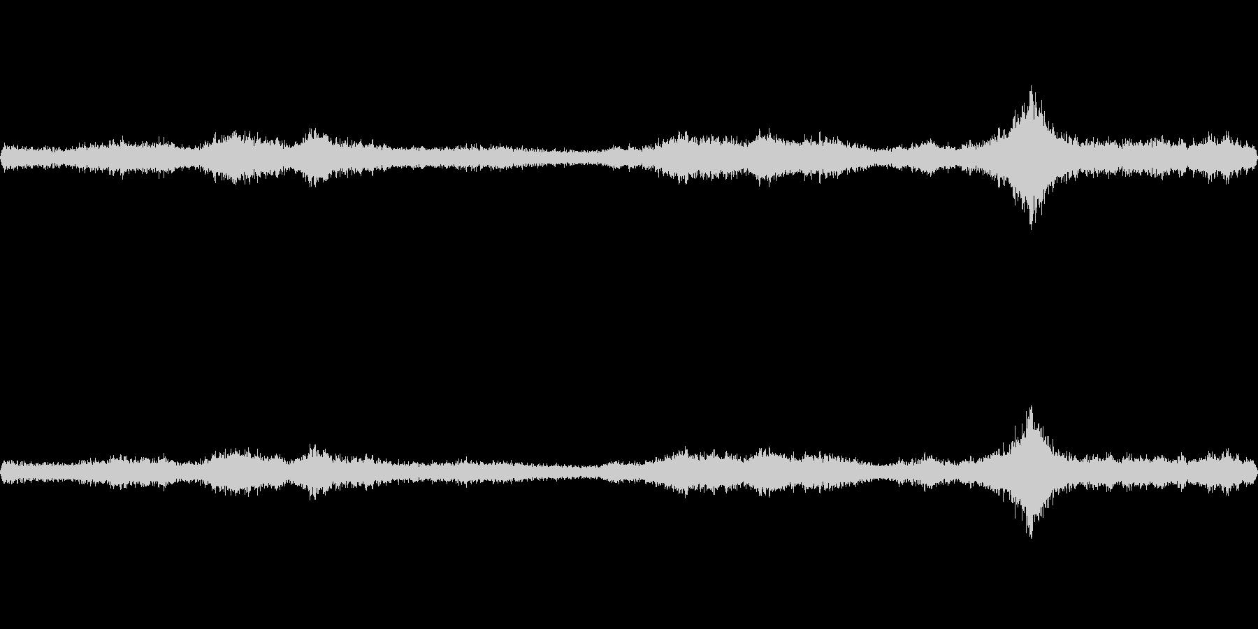 台風の日の室内環境音2bの未再生の波形