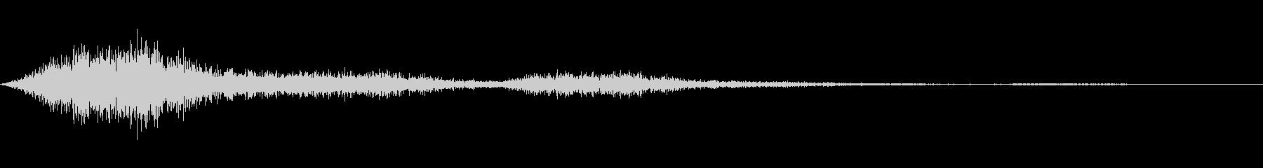 シュイン(ワープや詠唱開始音など)の未再生の波形