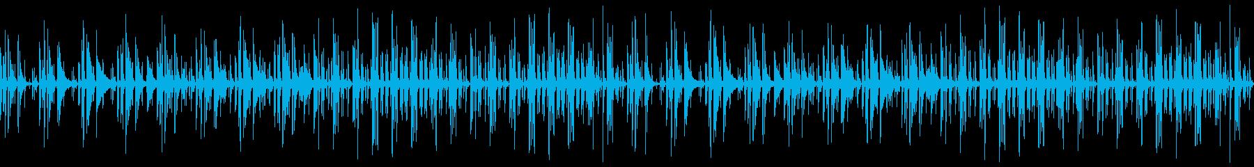 動画向けピアノと木琴鉄琴のほのぼの日常の再生済みの波形