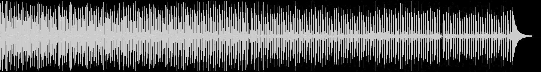 長い動画や読書に合う、落ち着いたボサノバの未再生の波形