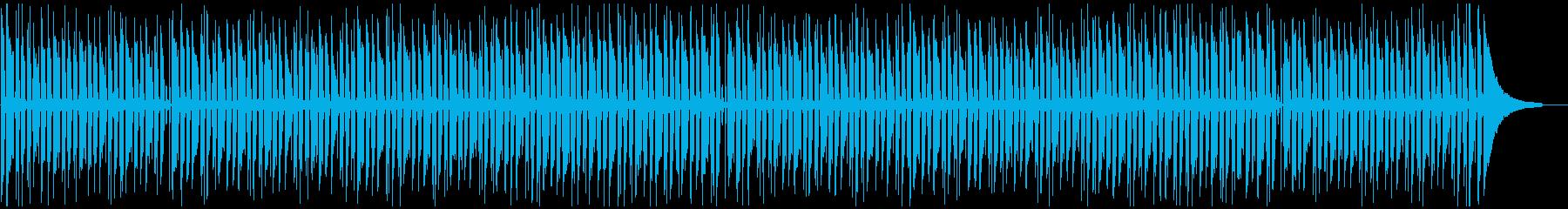 長い動画や読書に合う、落ち着いたボサノバの再生済みの波形