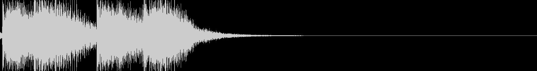 弦のみ オーケストラヒット 旋律の未再生の波形