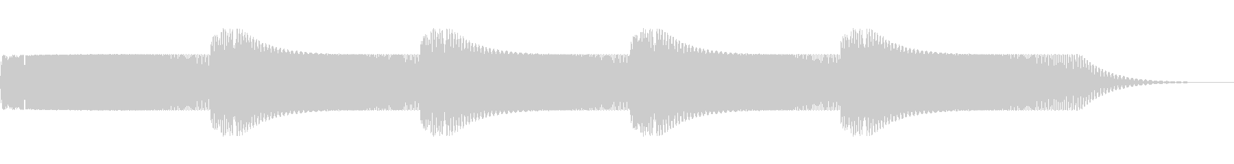 小型レーザー銃:ショートバースト、...の未再生の波形