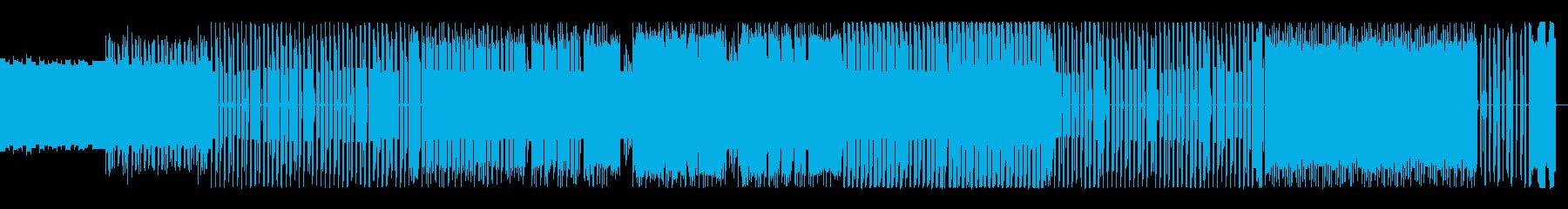 8bit優雅でコミカルな不思議のワルツの再生済みの波形