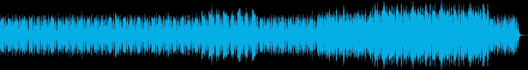 ピアノソロバージョンの再生済みの波形
