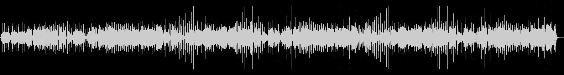 昔話風の素朴な尺八と太鼓の和風BGMの未再生の波形