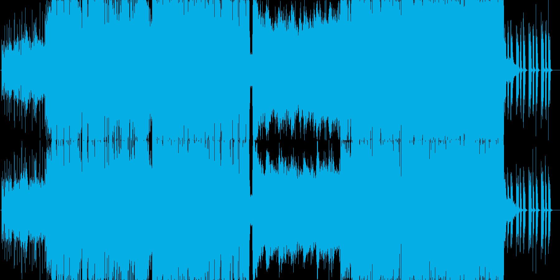 【ダブステップ】EDM・オープニング映像の再生済みの波形