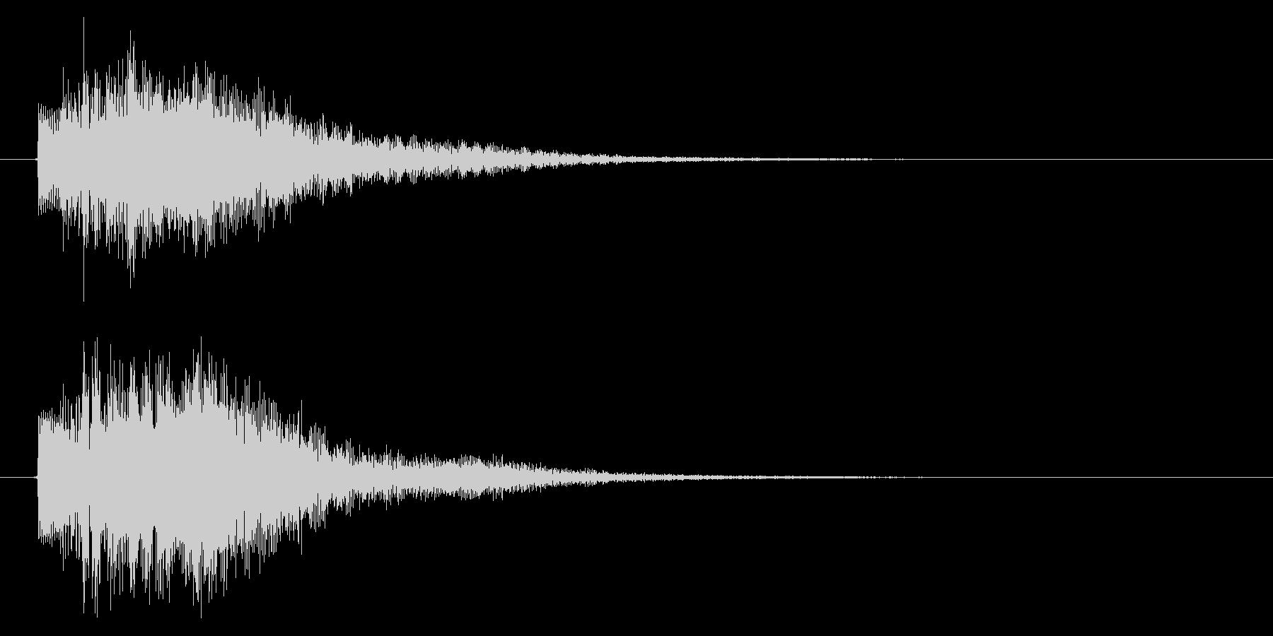 取得/重要アイテム/ホラー系の未再生の波形