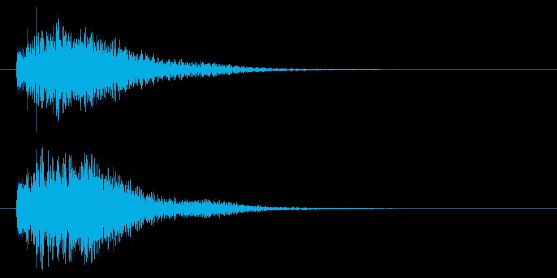 取得/重要アイテム/ホラー系の再生済みの波形