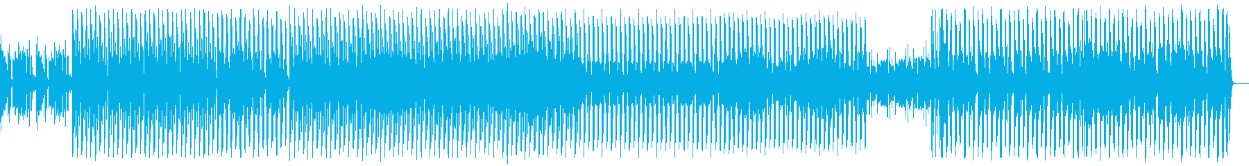 クールな車のCM風EDMの再生済みの波形