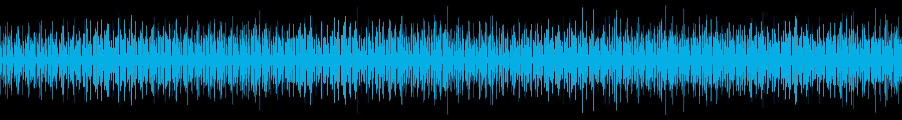サービス紹介で流れそうなBGMの再生済みの波形