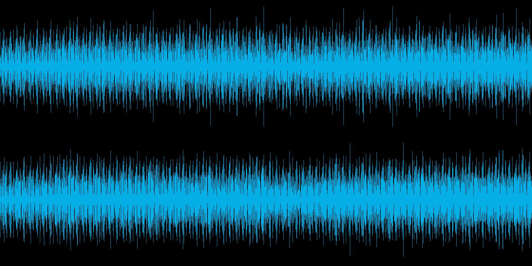最新のサービス紹介で流れそうなBGMの再生済みの波形