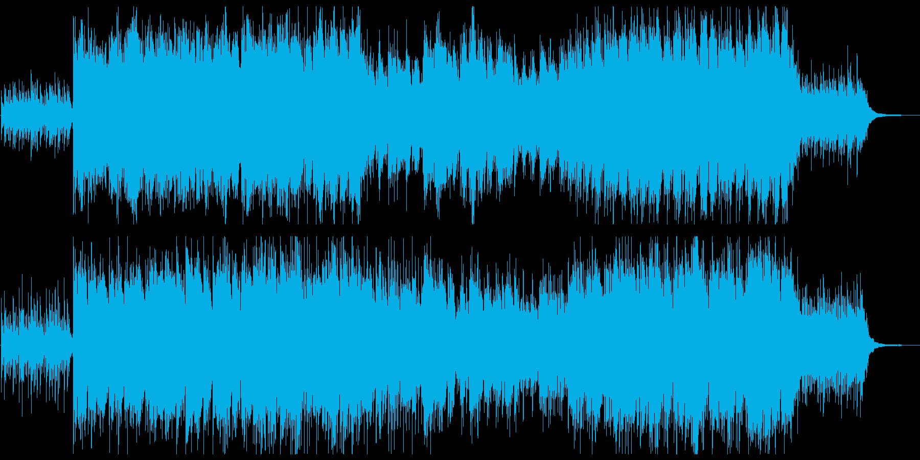 天球図譜_アイリッシュフルート_ピアノの再生済みの波形