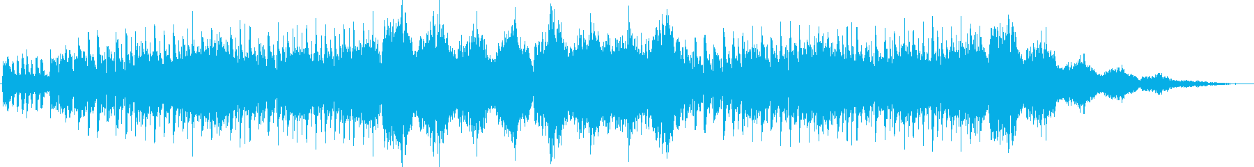 マーチングバンドによるわくわく明るい曲の再生済みの波形