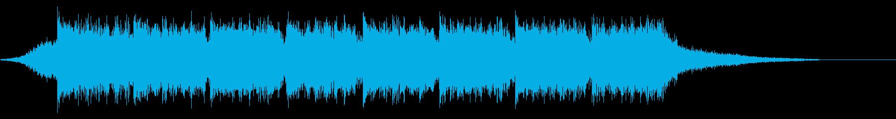 企業VP映像、118オーケストラ、爽快cの再生済みの波形