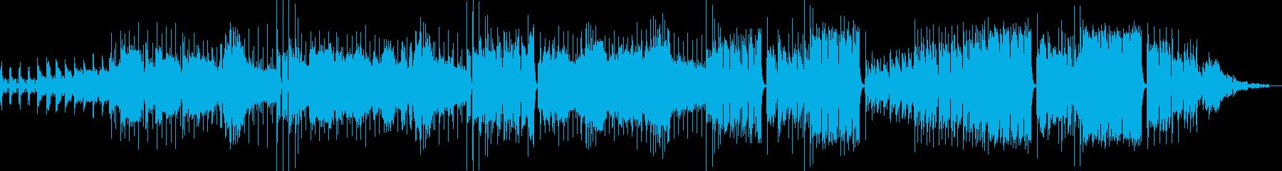 夜の暗いコスチュームショップ、プラ...の再生済みの波形