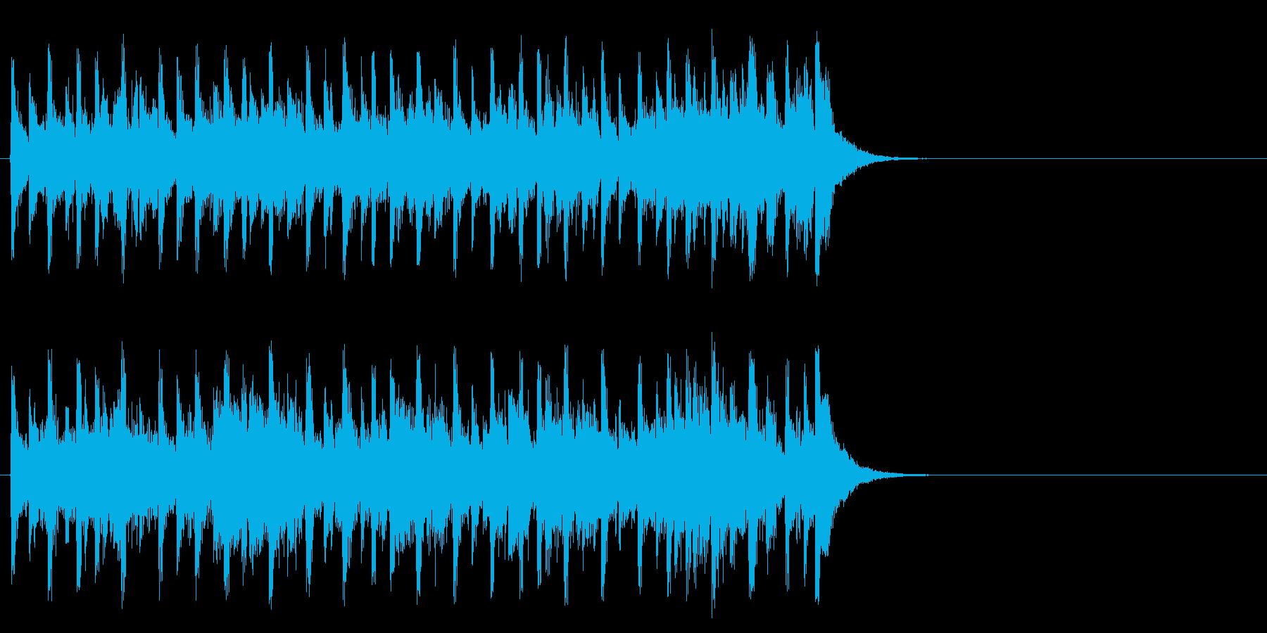 生き生きモータウンポップ(サビ)の再生済みの波形