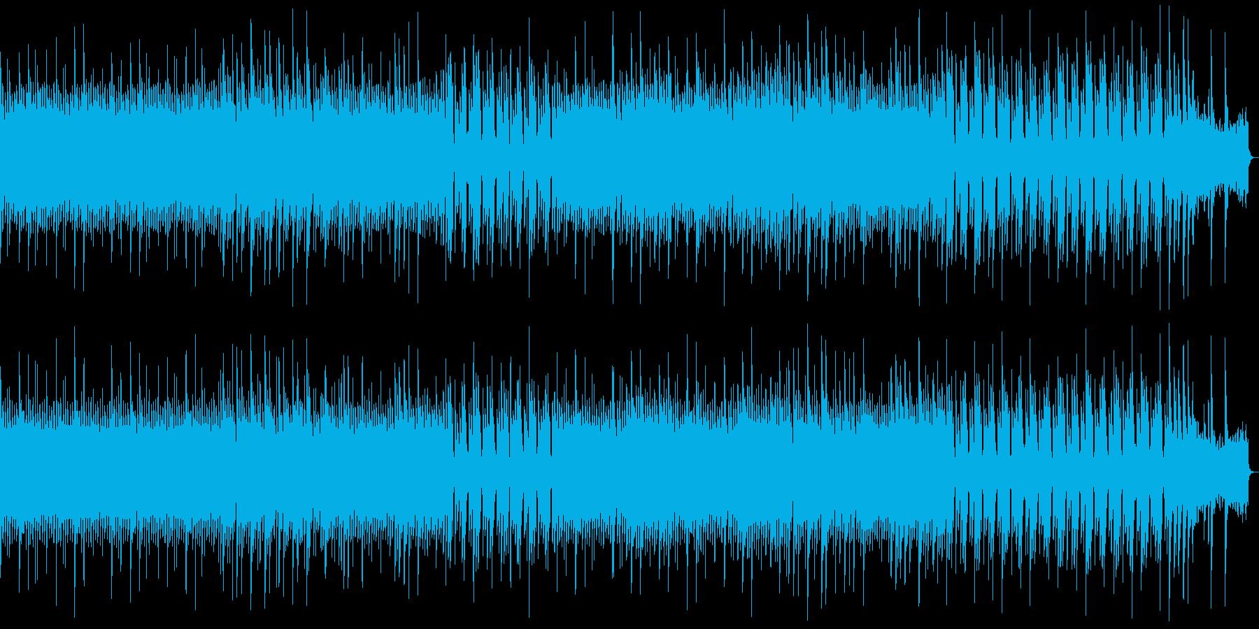 8bit ダークファンタジーなBGMの再生済みの波形