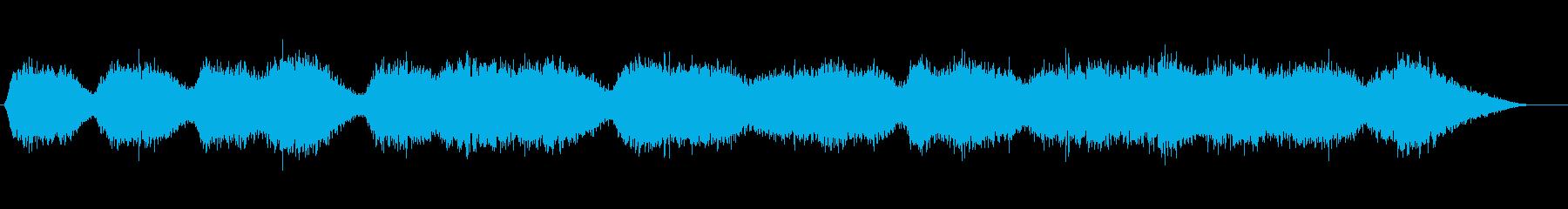 バックグラウンドに流す空間的なSEの再生済みの波形