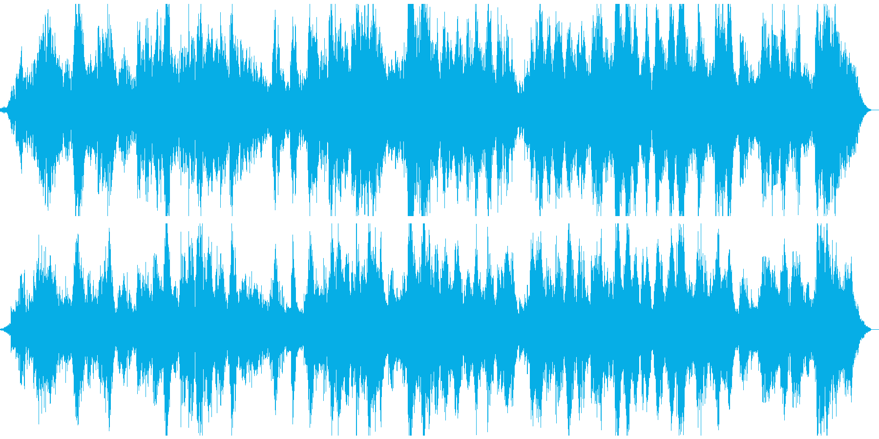 大自然・宇宙 壮大なヒーリング系BGMの再生済みの波形