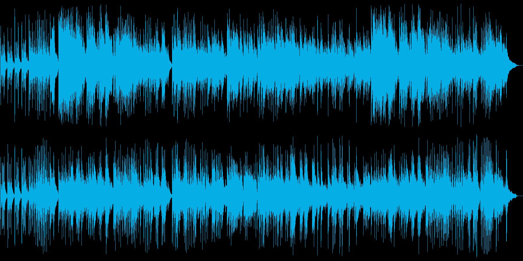 切ないピアノのリラクゼーション音楽の再生済みの波形