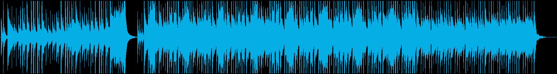 サルサ、ラテン系のジャズ、トランペット曲の再生済みの波形