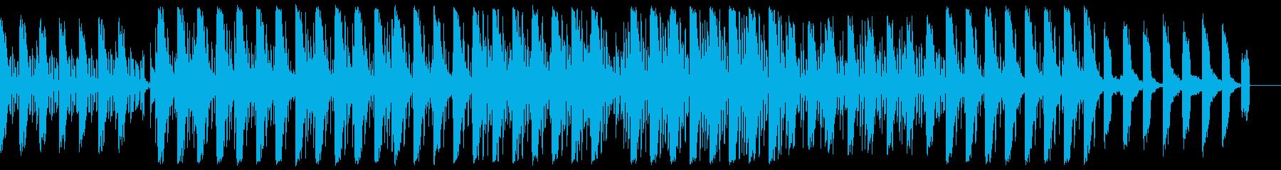 ほのぼのしたちょっぴり切ないchill系の再生済みの波形