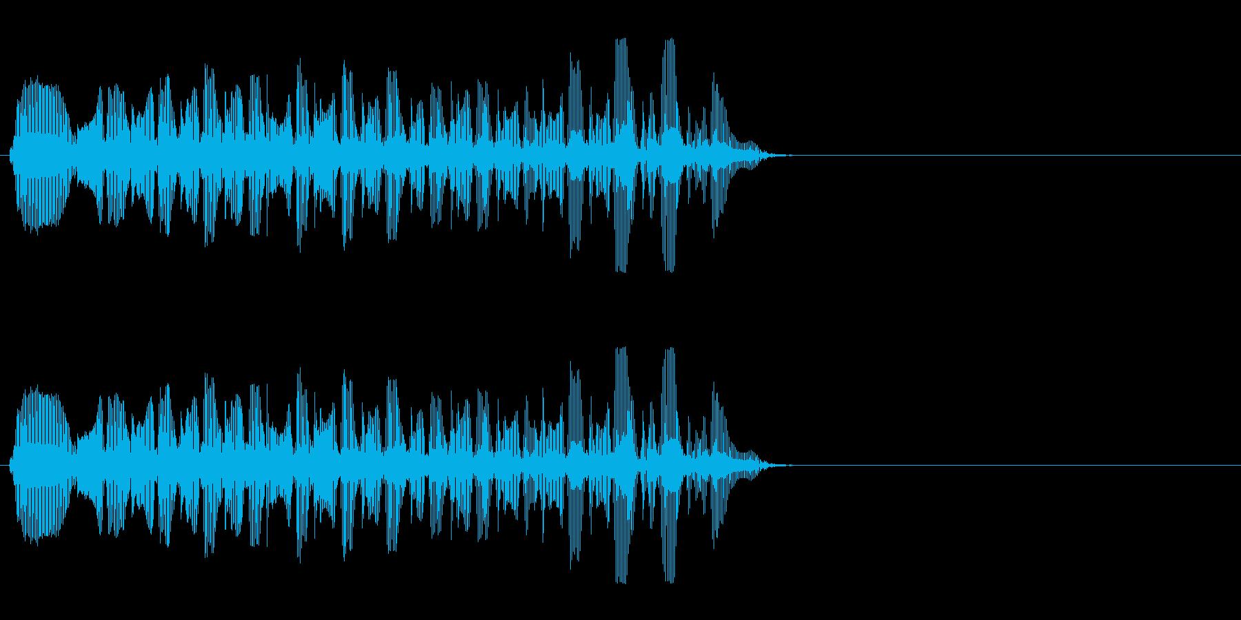 ミュートトロンボーン-ラピッド、フ...の再生済みの波形