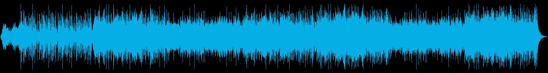 クリスマス・オルゴールとオーケストラの再生済みの波形