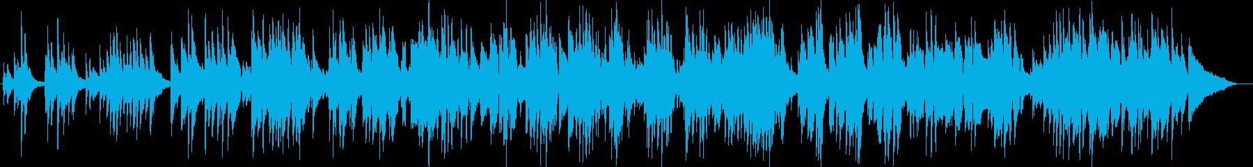 切なく哀しげなギターピアノサウンドの再生済みの波形