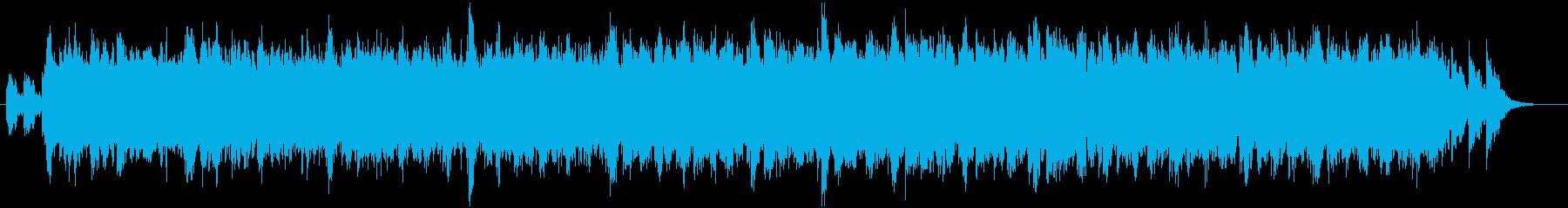 宇宙戦争後のダフトパンクの再生済みの波形