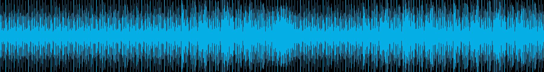 追跡をするときのBGM。【ループ】の再生済みの波形