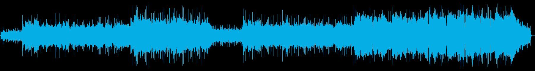 日本の秋の始まりをイメージした曲の再生済みの波形
