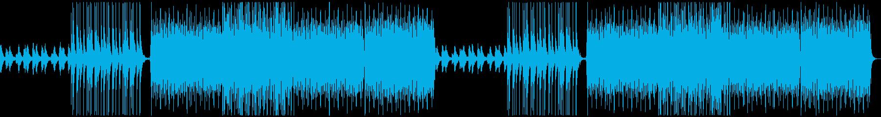ファンタジックで和風なBGMの再生済みの波形