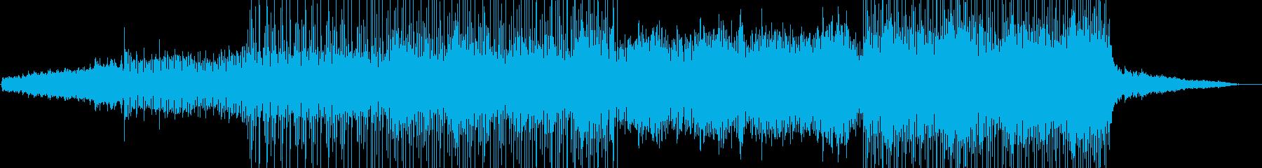 電気楽器。企業のビジネステーマ。高...の再生済みの波形
