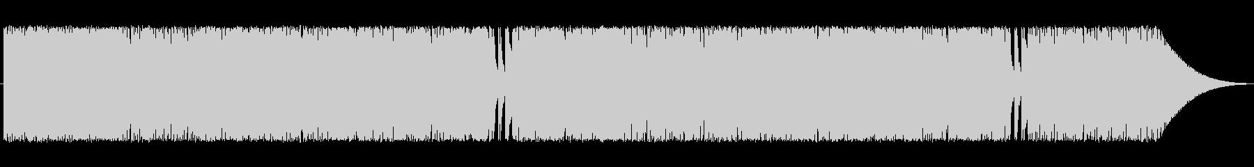 ハイスピードピアノ(暗め)の未再生の波形
