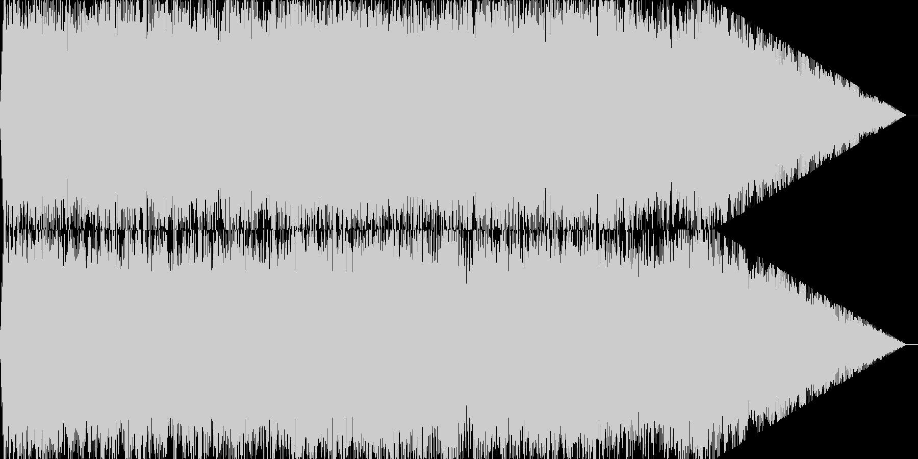 泣きのギターソロが炸裂するロックサウンドの未再生の波形
