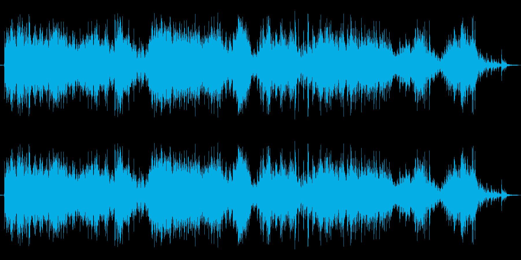 ガラガラ(くじ引きの音。長めの再生済みの波形