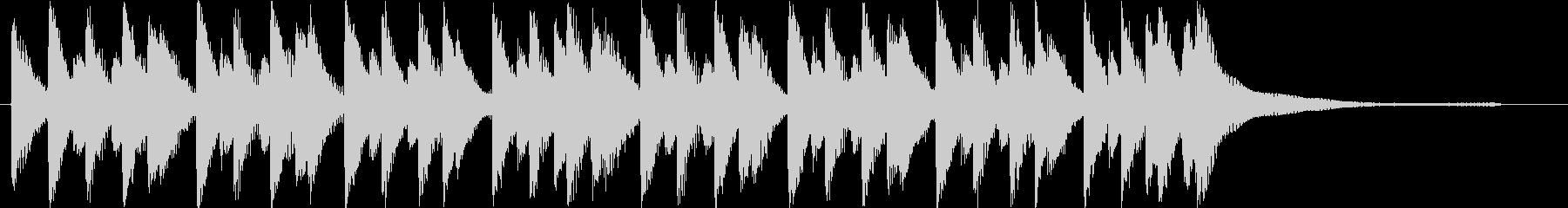 明るくポップな流行コーポレート系ロゴの未再生の波形