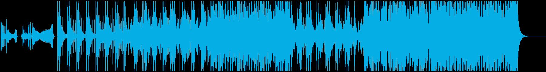 アコーディオンの妖艶なタンゴの再生済みの波形