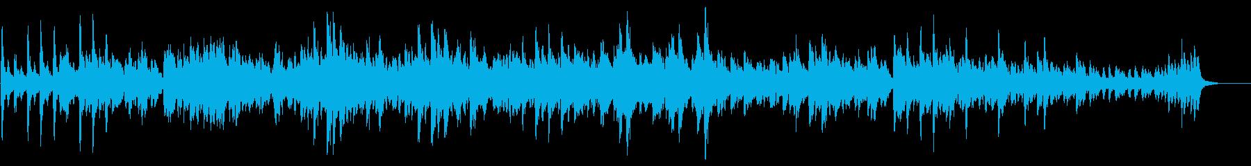 チャイコフスキー四季より3月ひばりの歌の再生済みの波形