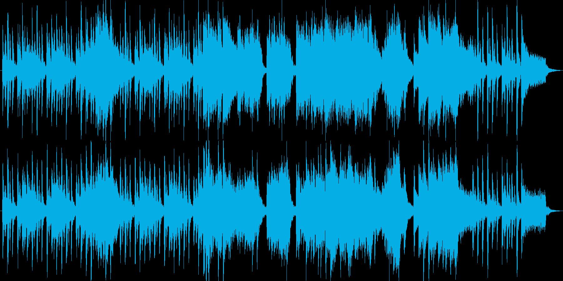 のんびりほのぼのかわいいアコースティックの再生済みの波形