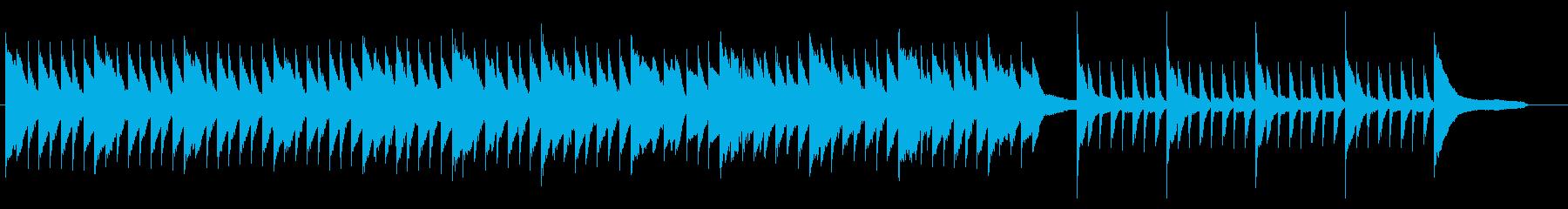 切ない・失恋・劇伴・ピアノの再生済みの波形
