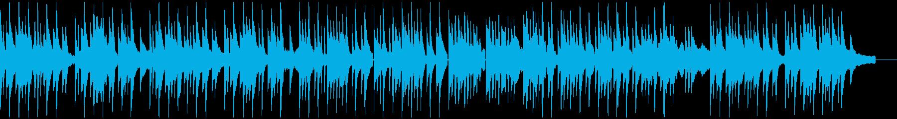 メランコリックなピアノソロの再生済みの波形
