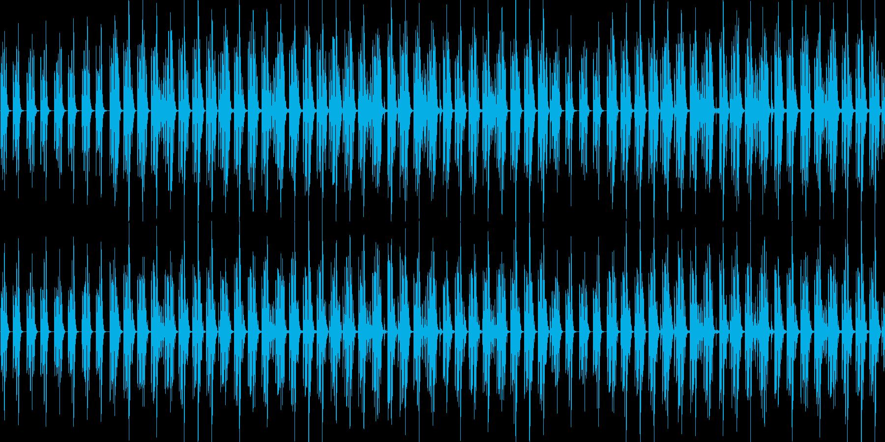 ループ コロコロした音色がかわいい日常系の再生済みの波形