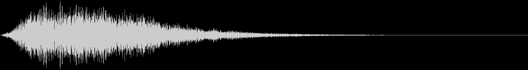 【ダーク】重低音_衝撃音_02の未再生の波形