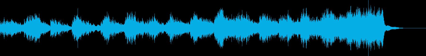 アンビエント 感情的 バラード エ...の再生済みの波形